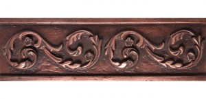Metal Border 05 Copper