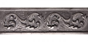 Metal Border 05 Silver